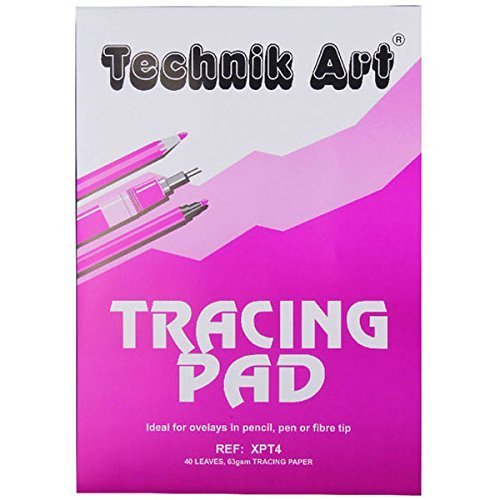 HCP 304 A3 62GSM TRACING Paper PAD 40 Sheets
