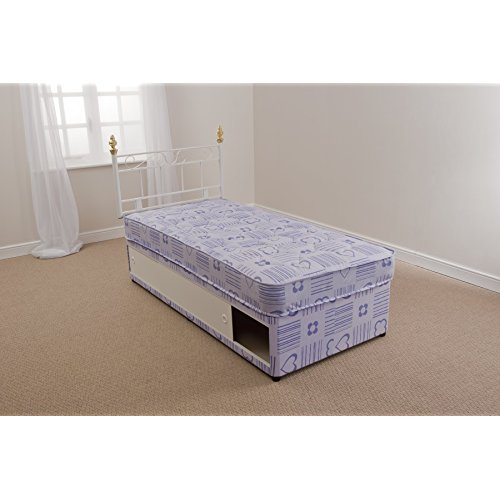Off White Interiors 2 Suit U Oxford 3ft Standard Single Divan Set