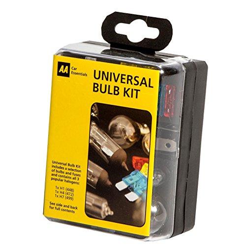 PEUGEOT Boxer Van H1+H7 Emergency Replacement Bulb Fuse set spare KIT 12v CAR